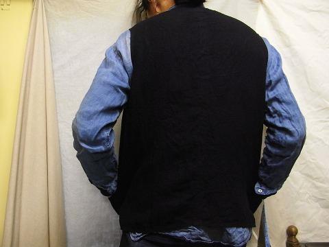 その後 / classic frenchwork herringbone indigolinen shirt , indigo_e0130546_12324446.jpg