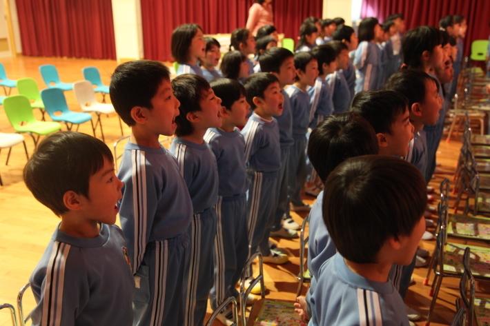 卒園式の練習_b0277979_15390651.jpg