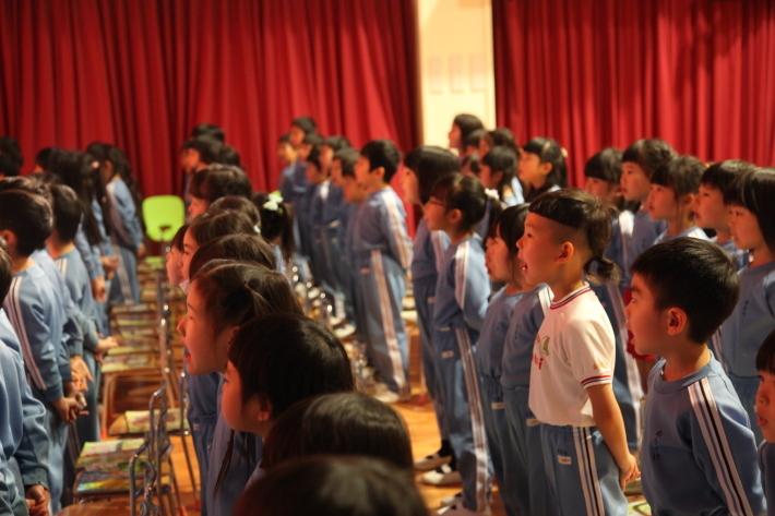 卒園式の練習_b0277979_15391778.jpg