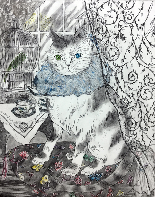 銀座三越ギャラリー『春うららの猫展』&キャサリンティーパーティ_b0010487_09321953.jpg