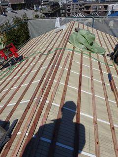 板橋区の赤塚で、瓦取り替え工事_c0223192_23395132.jpg