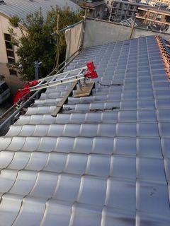 板橋区の赤塚で、瓦取り替え工事_c0223192_23401723.jpg