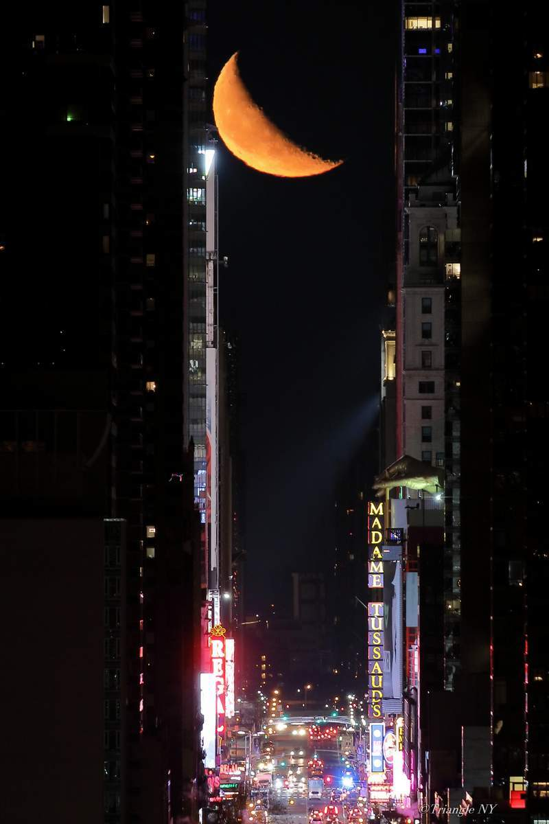 And Next day   -- Manhattan Moon Henge Ⅱ 2018 --_a0274805_12060350.jpg