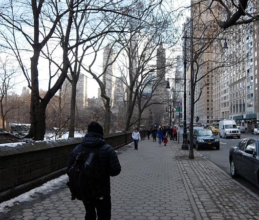 NYのセントラルパーク最南端59丁目沿いをお散歩_b0007805_12832100.jpg