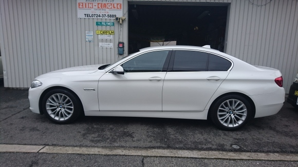 BMW カーフィルム ボディコーティング ラバーディップ  大阪 貝塚     _a0197623_15310954.jpg