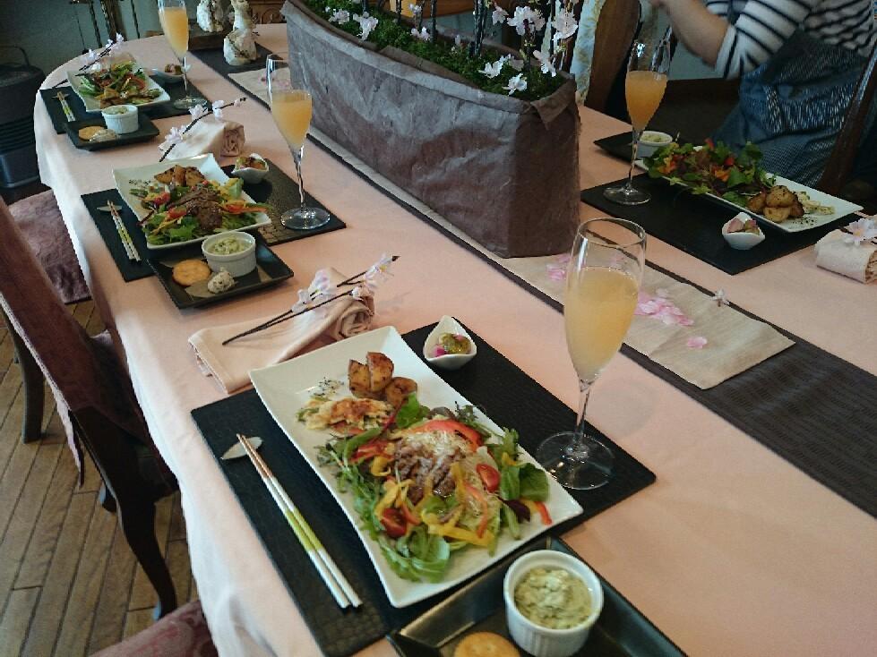 第3週の料理教室始まりました。_f0323446_00103914.jpg