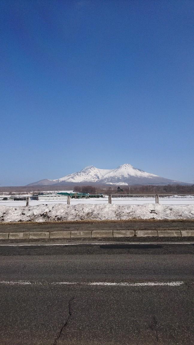 青空と駒ヶ岳_b0106766_21244584.jpg