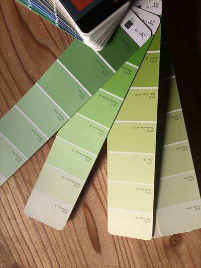 決まりましたよ、緑色!_d0165772_20523169.jpg
