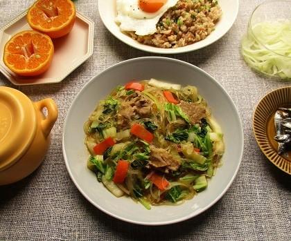 『創味シャンタン』のお味で野菜たっぷりマフィンも美味しい♪_a0305576_08112270.jpg