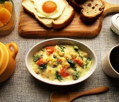 『創味シャンタン』のお味で野菜たっぷりマフィンも美味しい♪_a0305576_08124382.jpg