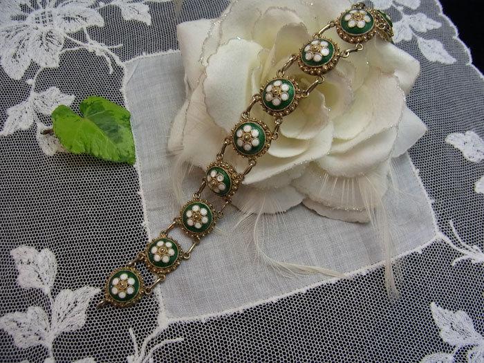 春色・お花のブレスレット♪_d0127182_16494239.jpg
