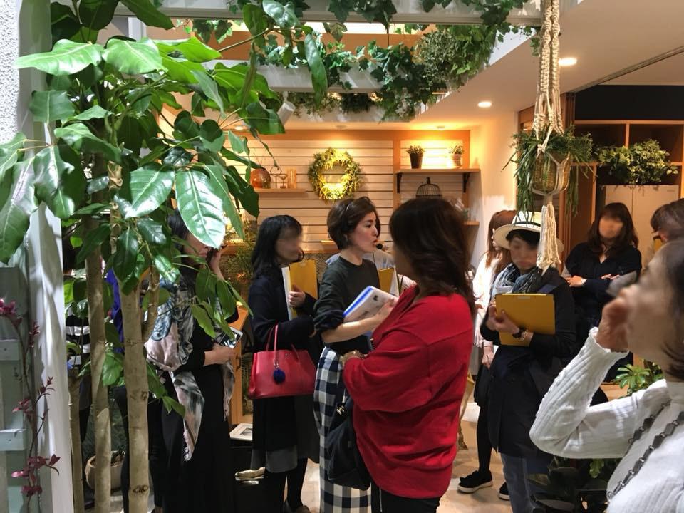 パナソニックセンター大阪くらしの大学 グリーンをセンスアップするセミナー講師のお仕事でした 2018.3_f0375763_23161817.jpg