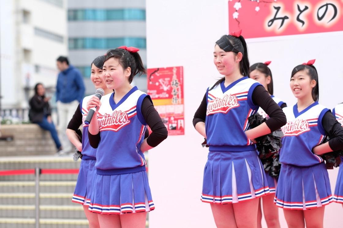 水戸商業高等学校チア・ダンス部「Blue Twinkle\'s」<4> 2018・03・11_e0143883_18584927.jpg