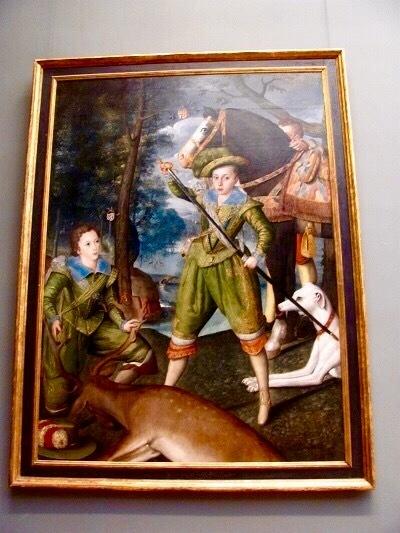 メトロポリタン美術館の一枚 洒落た肖像画はHenry prince of wales_e0373235_07284714.jpg