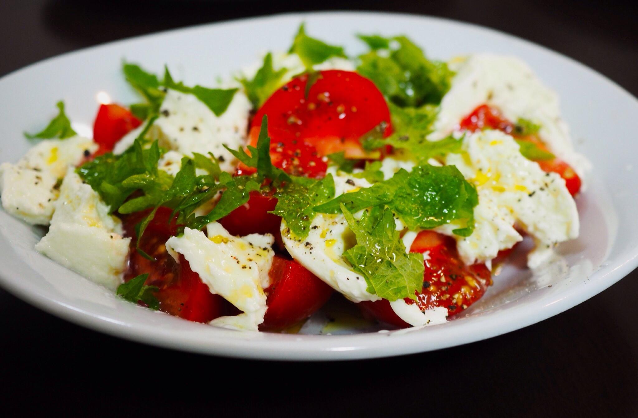 トマトとモッツアレラのサラダ - sobu 2
