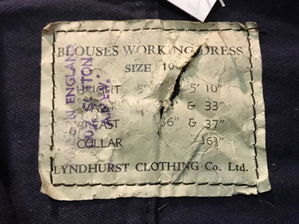 1940\'s British Royal Navy Working Dress Blouses!!! + お知らせ!(T.W.)_c0078587_13071181.jpg