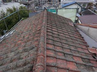 板橋区の赤塚で、瓦屋根取り替え工事_c0223192_22375568.jpg