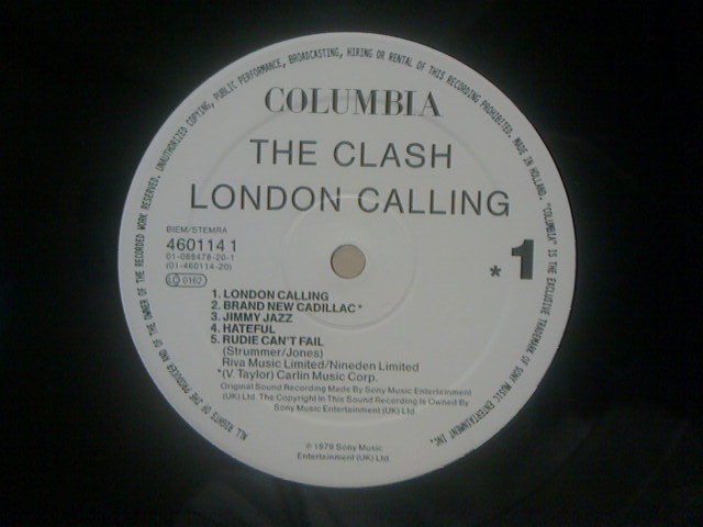 London Calling / The Clash_c0104445_1716559.jpg