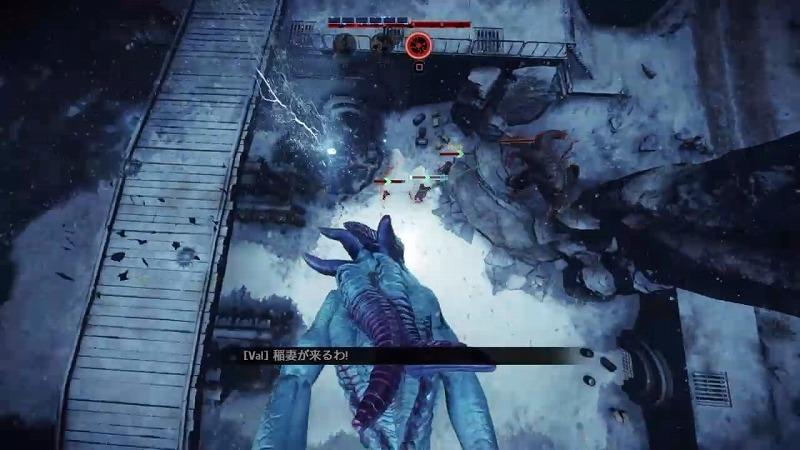 ゲーム「EVOLVE KrakenのMan O War Skin買いました」_b0362459_01160569.jpg