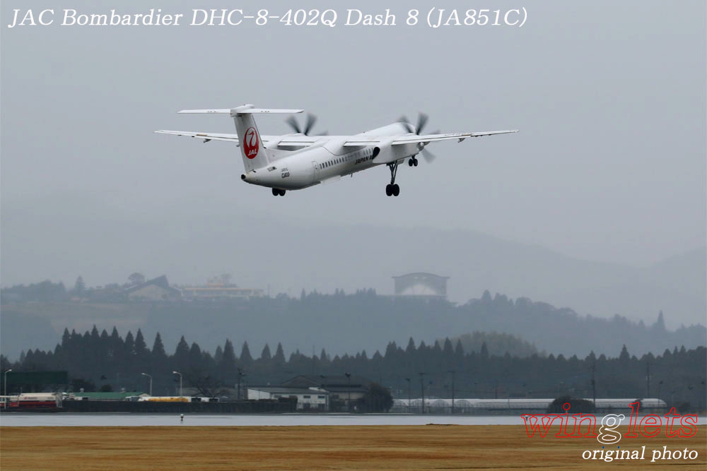 '18年 鹿児島空港レポート・・・JAC/JA851C_f0352866_21385454.jpg