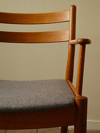 arm chair (Poul M.Volther)①_c0139773_17551544.jpg