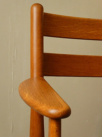 arm chair (Poul M.Volther)①_c0139773_17552317.jpg