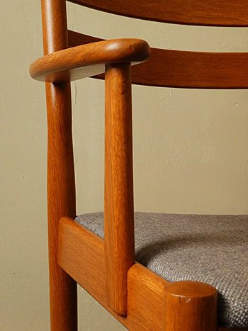 arm chair (Poul M.Volther)①_c0139773_17553284.jpg