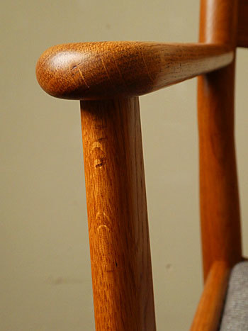 arm chair (Poul M.Volther)①_c0139773_17565662.jpg