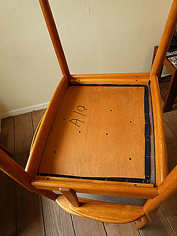 arm chair (Poul M.Volther)①_c0139773_17573135.jpg