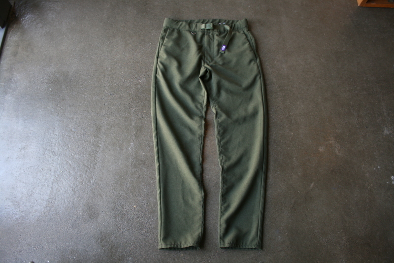 第4126回 Polyestel Tropical Field Pants。_f0366424_17513317.jpg
