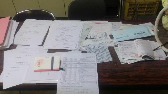 自治会の事務局で痺れている_b0274329_17280539.jpg