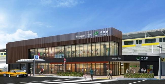 JR平井駅 リニューアルオープン!_d0157764_21401417.jpg