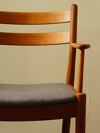 arm chair (Poul M.Volther)②_c0139773_14322209.jpg