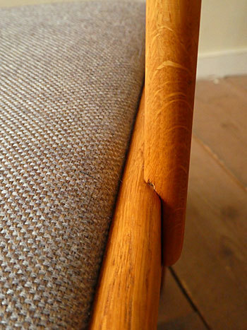 arm chair (Poul M.Volther)②_c0139773_14350689.jpg