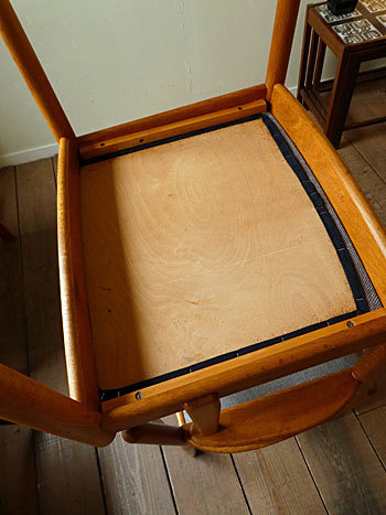 arm chair (Poul M.Volther)②_c0139773_14370488.jpg