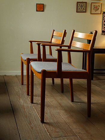 arm chair (Poul M.Volther)②_c0139773_14372163.jpg