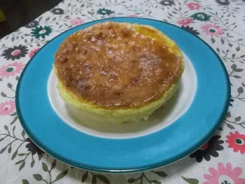 簡単チーズケーキ(自家製柚子ジャム入り)&ぬか漬け始める_f0019498_20435124.jpg