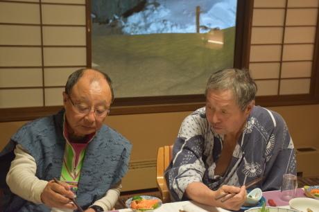 旭川中心のバックカントリーの宿は温泉と料理そして3代目と4代目女将が素敵な「扇松園」だ。_c0242406_16015622.jpg