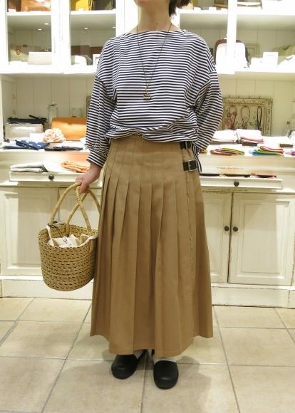 2018年 オニールオブダブリン 春のチノキルトスカートです。_c0227633_13051806.jpg