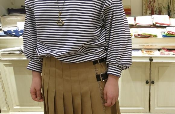 2018年 オニールオブダブリン 春のチノキルトスカートです。_c0227633_13310718.jpg