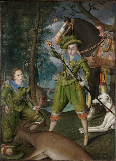 メトロポリタン美術館の一枚 洒落た肖像画はHenry prince of wales_e0373235_11472215.jpg