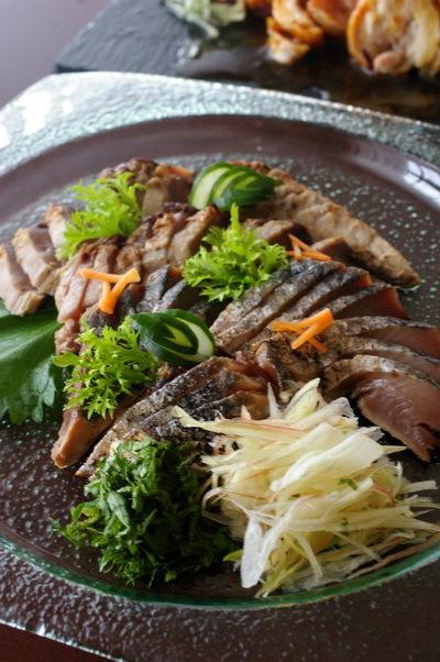 今日の夕食:鶏チャーシュー_d0327373_17030429.jpg