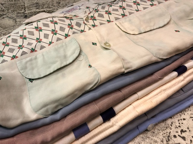 3月21日(水)大阪店、春物ヴィンテージ&ボトムス入荷!!#8  VintageShirt Part1編!BOX!!_c0078587_212024.jpg