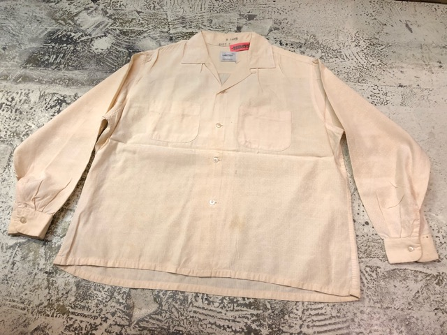 3月21日(水)大阪店、春物ヴィンテージ&ボトムス入荷!!#8  VintageShirt Part1編!BOX!!_c0078587_21654.jpg