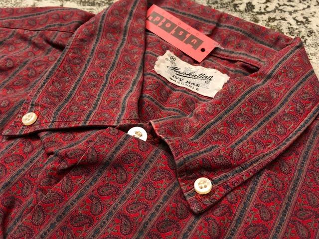 3月21日(水)大阪店、春物ヴィンテージ&ボトムス入荷!!#8  VintageShirt Part1編!BOX!!_c0078587_2212585.jpg