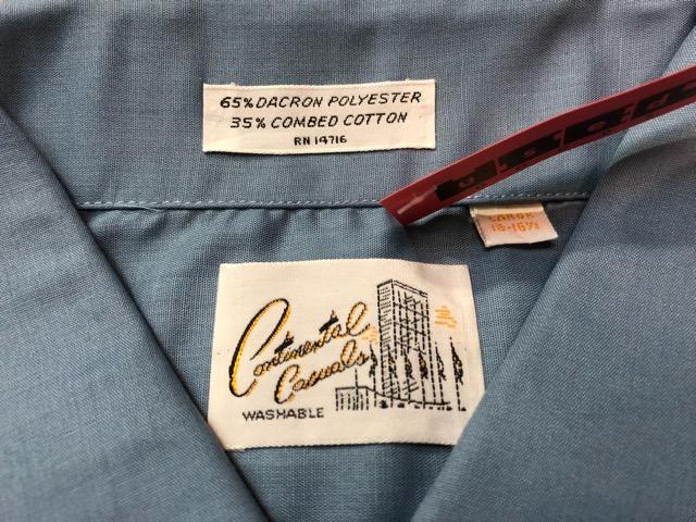 3月21日(水)大阪店、春物ヴィンテージ&ボトムス入荷!!#8  VintageShirt Part1編!BOX!!_c0078587_2284033.jpg