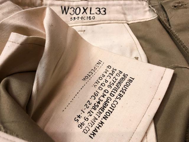 3月21日(水)大阪店、春物ヴィンテージ&ボトムス入荷!!#10  Military ChinoPants編!NOS M-1945!!_c0078587_3112936.jpg
