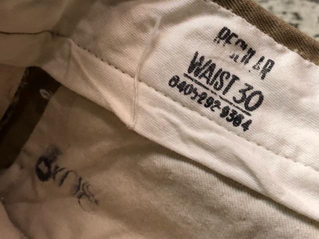 3月21日(水)大阪店、春物ヴィンテージ&ボトムス入荷!!#10  Military ChinoPants編!NOS M-1945!!_c0078587_3215544.jpg