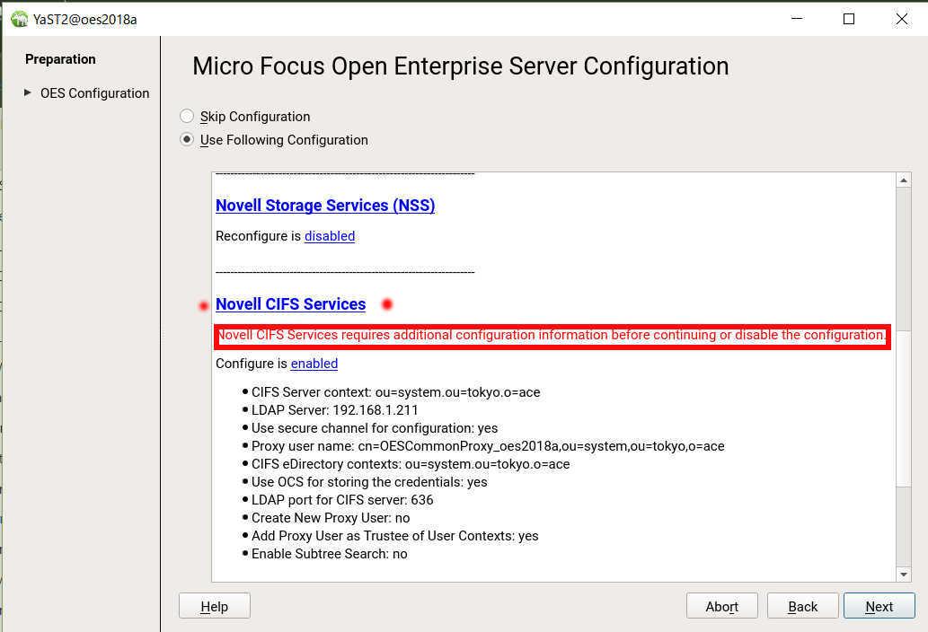 OES 2018 Linux で SMB ファイルサーバーのフォルダ容量制限(ディレクトリクォータ)_a0056607_13042762.jpg