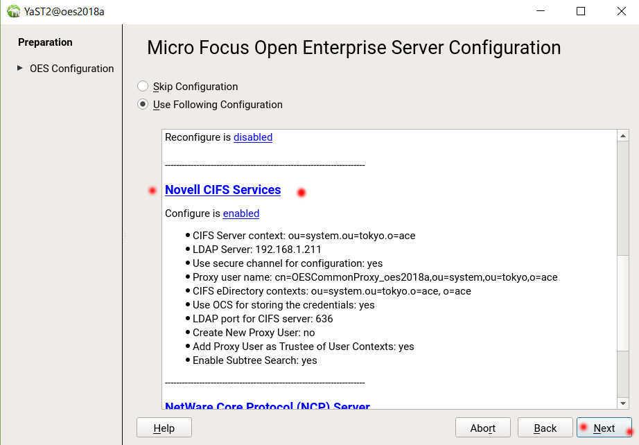 OES 2018 Linux で SMB ファイルサーバーのフォルダ容量制限(ディレクトリクォータ)_a0056607_13073027.jpg